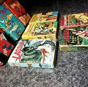 Set of 8 Little Big Books